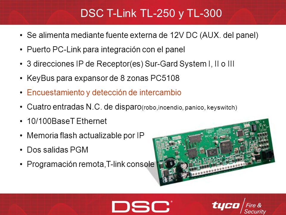 DSC T-Link TL-150 Soporta todos los paneles PowerSeries Su diseño compacto permite montarlo dentro del gabinete del panel Los propietarios pueden arma