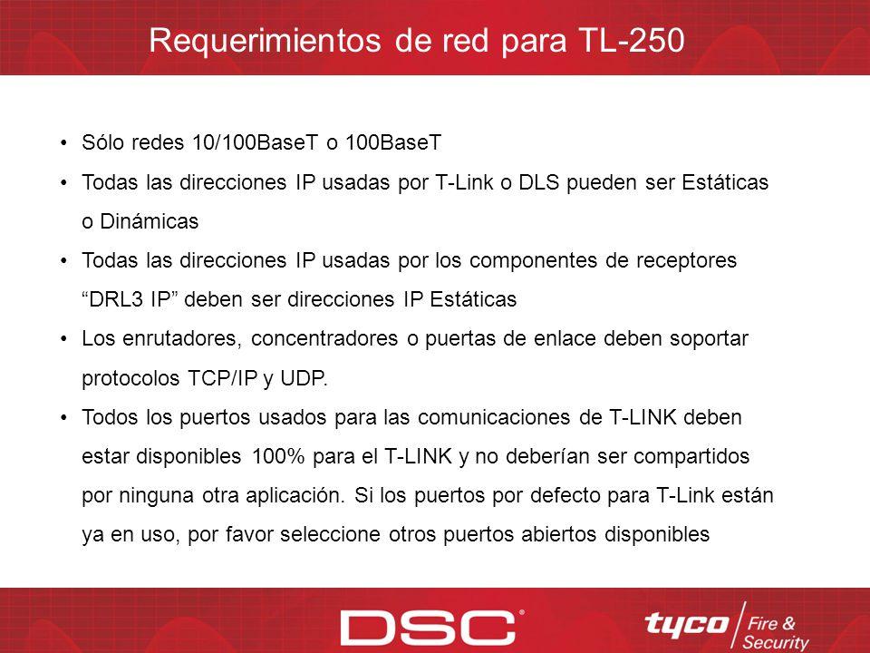 El TL-250 usa encriptación AES si esta se habilita Se encripta toda la información transmitida al receptor y al TL-250 AES (Advanced Encryption Standa