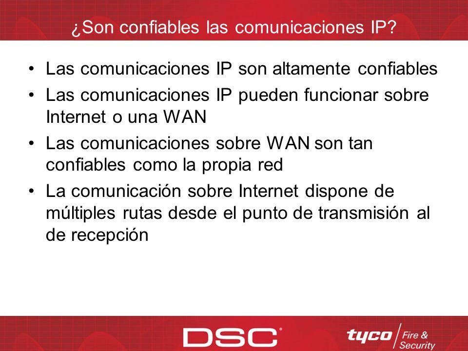 ¿Son confiables las comunicaciones IP.