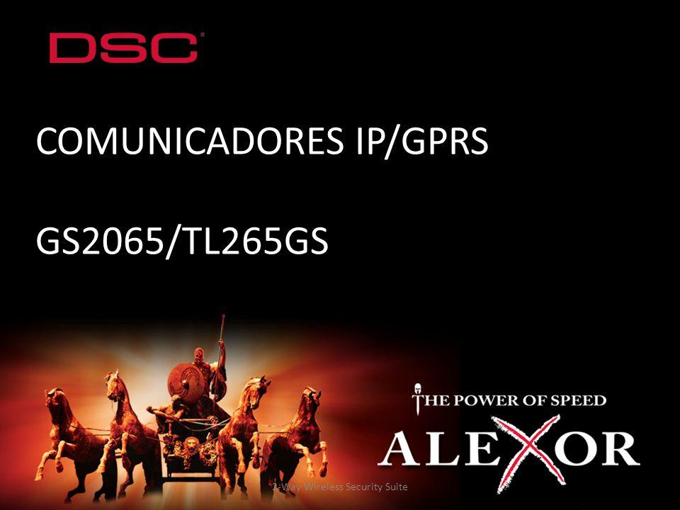 2-Way Wireless Security Suite COMUNICADORES IP/GPRS GS2065/TL265GS