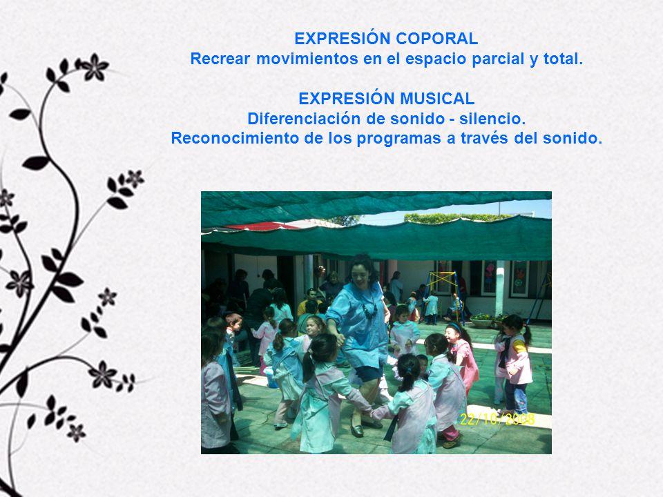 EXPRESIÓN PLÁSTICA En el espacio bidimensional a través de distintas técnicas y utilizando variados soportes.