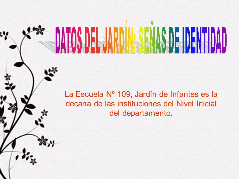 CENTRO DONDE SE DESARROLLA EL PROYECTO Jardín de Infantes Nº 109, de la ciudad de Mercedes, departamento de Soriano, sito en la calle Manuel de Castro y Careaga 464.