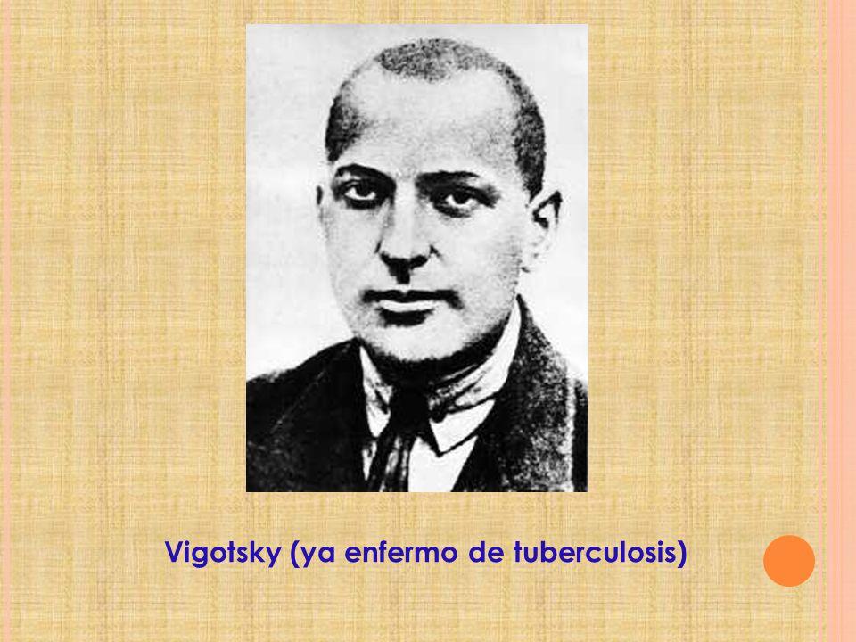 Vigotsky (ya enfermo de tuberculosis)