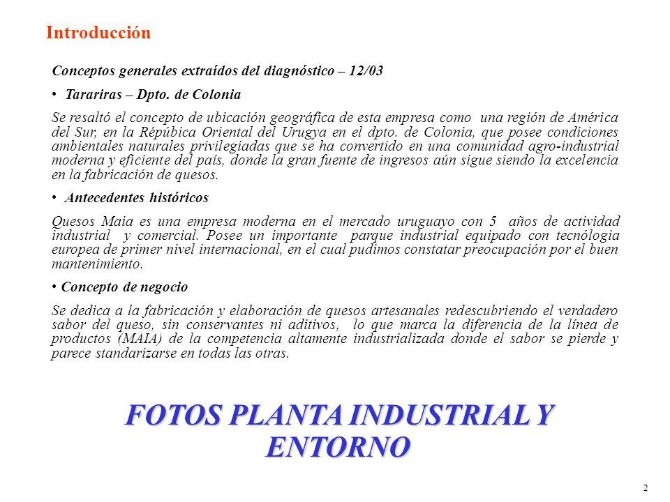 Conceptos generales extraídos del diagnóstico – 12/03 Tarariras – Dpto.