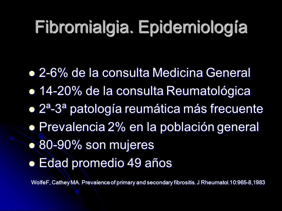 Fibromialgia.Etiopatogenia Neurohormonas y dolor.