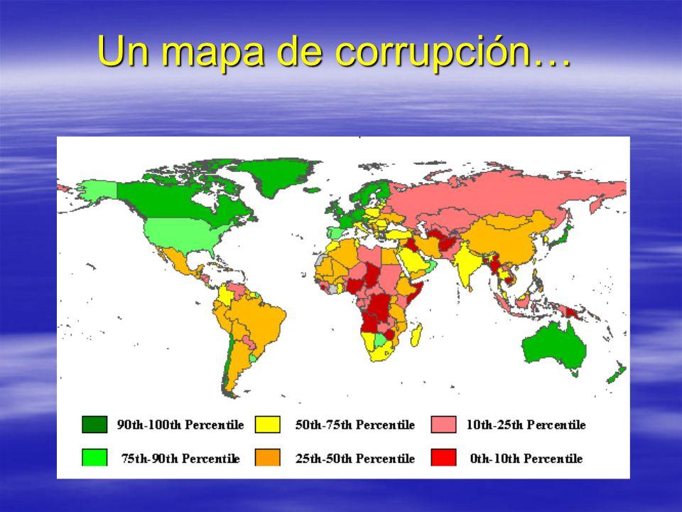Un mapa de corrupción…
