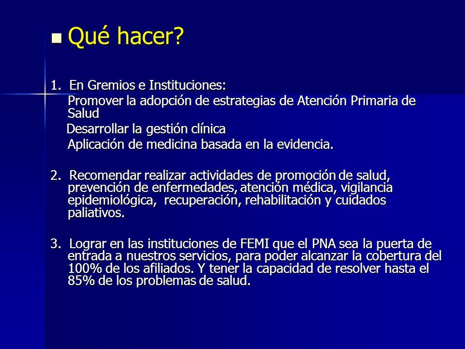 VII) COMPROMISOS PARA EL 2006 PARA EL 2006