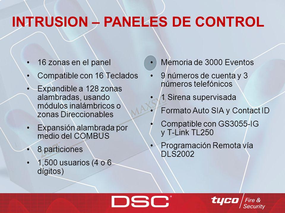 TECLADOS MAXSYS Los teclados LCD de MAXSYS pone la seguridad y la conveniencia en la punta de sus manos.