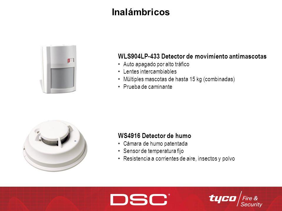 WLS904LP-433 Detector de movimiento antimascotas Auto apagado por alto tráfico Lentes intercambiables Múltiples mascotas de hasta 15 kg (combinadas) P