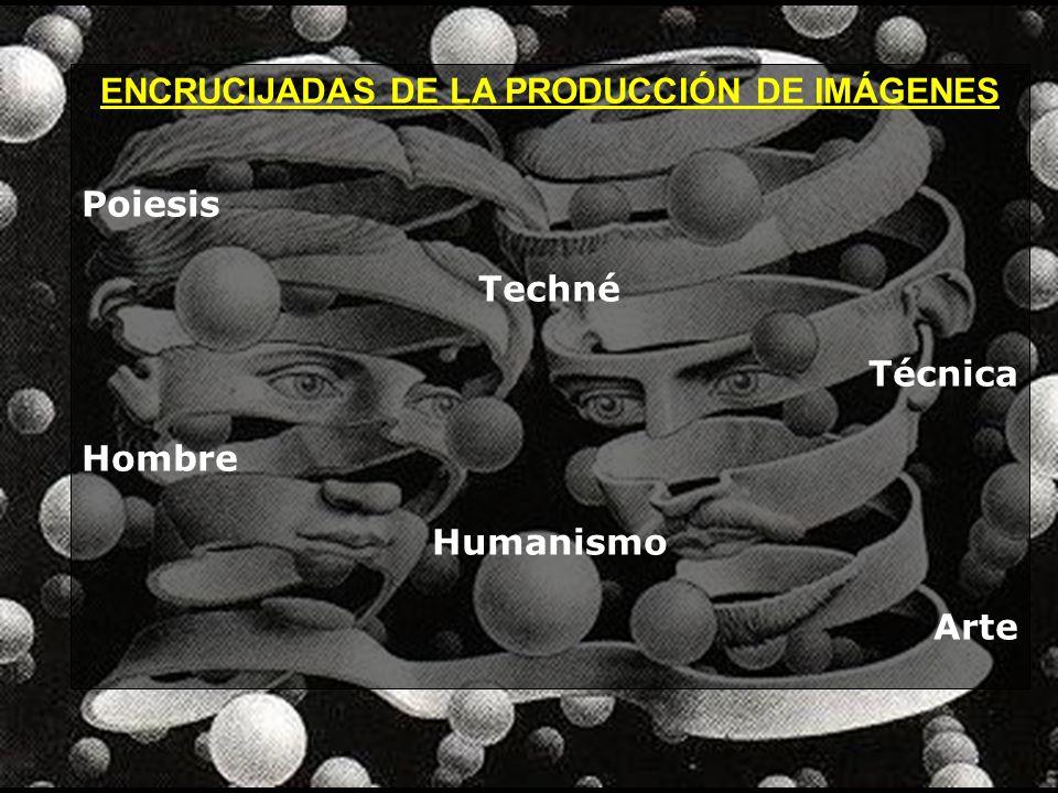 ENCRUCIJADAS DE LA PRODUCCIÓN DE IMÁGENES Poiesis Techné Técnica Hombre Humanismo Arte