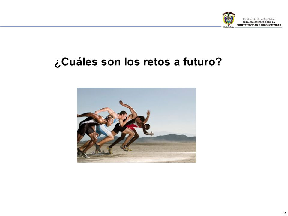 54 ¿Cuáles son los retos a futuro?