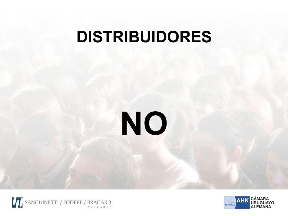 DISTRIBUIDORES NO