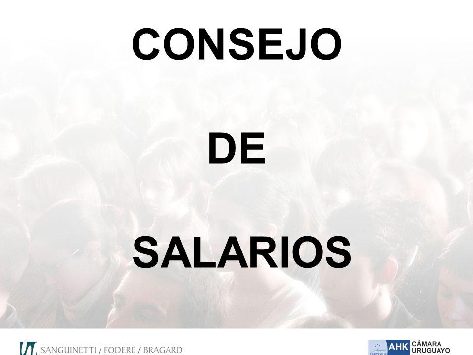 CONSEJO DE SALARIOS