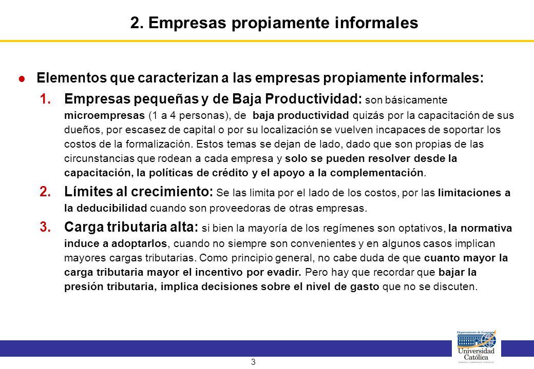 4 Para analizar el tema de la carga tributaria alta se parte analizando el régimen general.