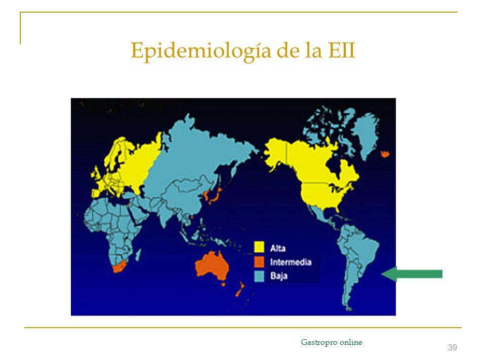39 Epidemiología de la EII Gastropro online