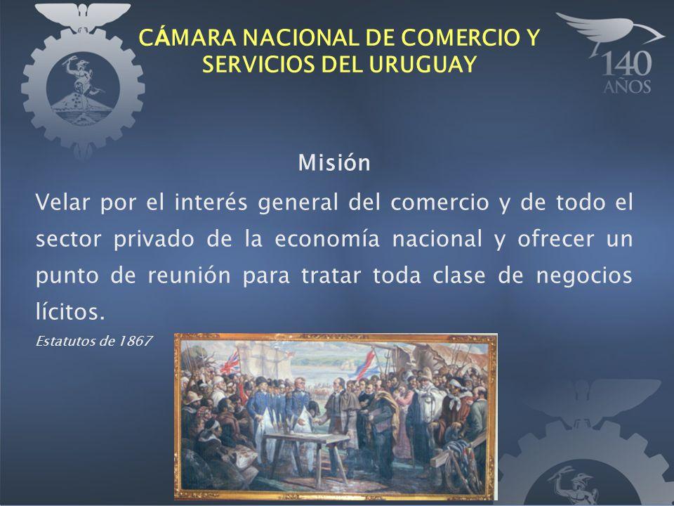 Misión Velar por el interés general del comercio y de todo el sector privado de la economía nacional y ofrecer un punto de reunión para tratar toda cl