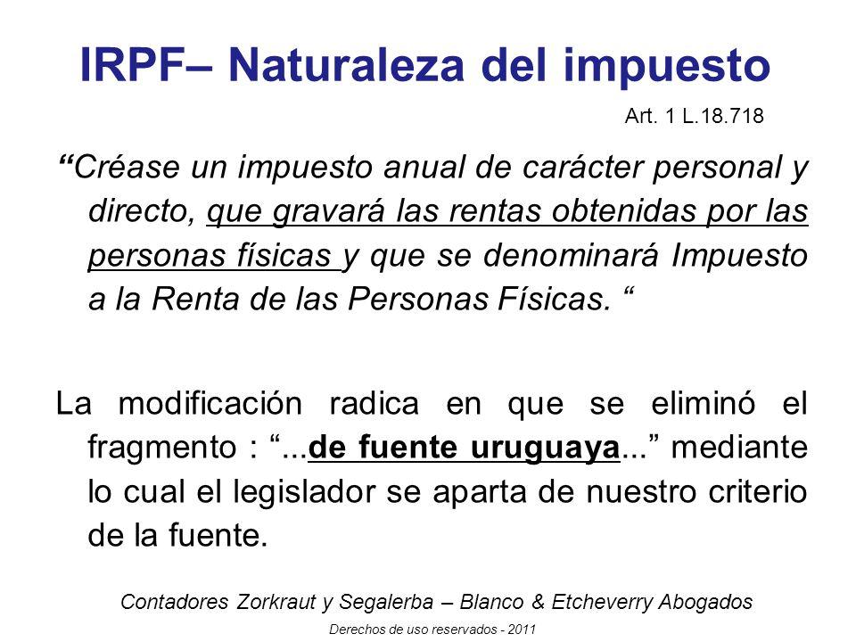 Contadores Zorkraut y Segalerba – Blanco & Etcheverry Abogados Derechos de uso reservados - 2011 Modificaciones al Secreto Bancario Alcance Art.