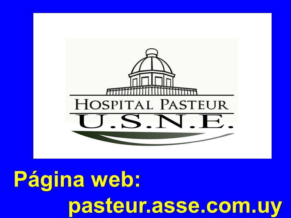 Página web: pasteur.asse.com.uy pasteur.asse.com.uy
