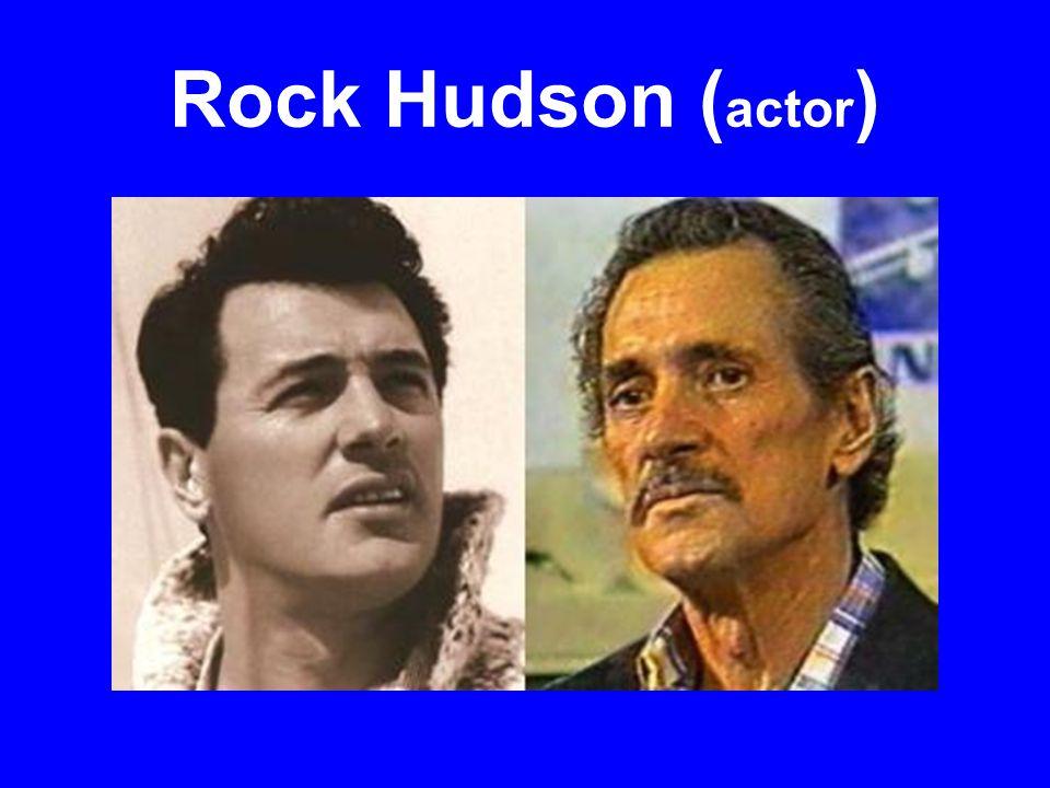 Rock Hudson ( actor )