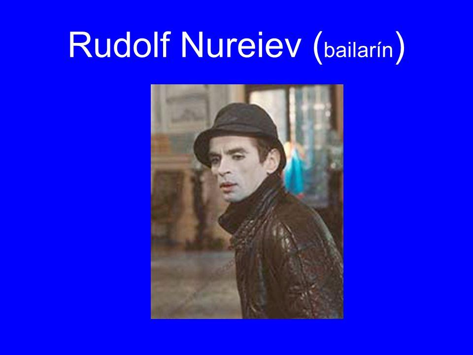 Rudolf Nureiev ( bailarín )