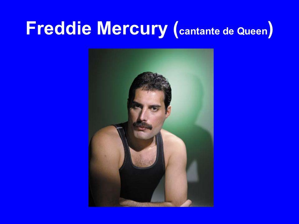 Freddie Mercury ( cantante de Queen )