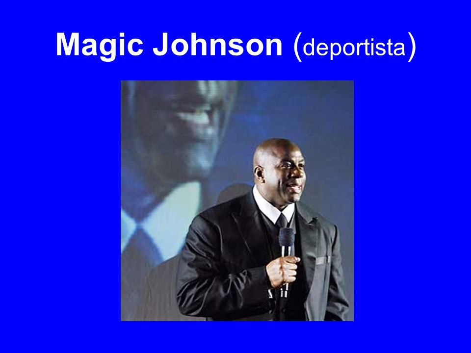 Magic Johnson ( deportista )