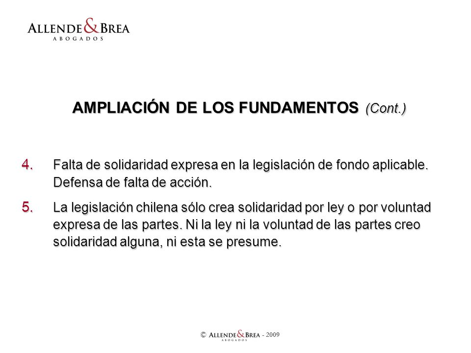 AMPLIACIÓN DE LOS FUNDAMENTOS (Cont.) 4.