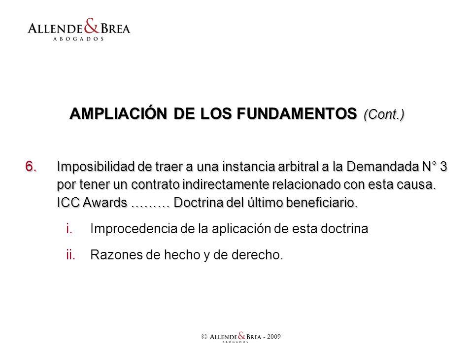 AMPLIACIÓN DE LOS FUNDAMENTOS (Cont.) 6.