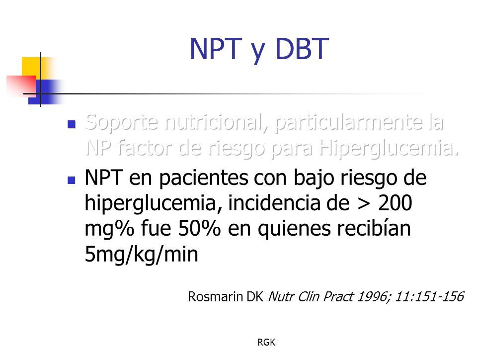 RGK NPT y DBT