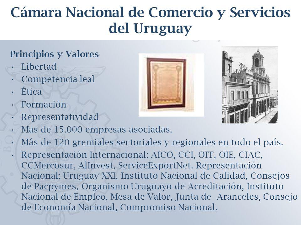 Esquema de la presentación 1.La Cámara Nacional de Comercio y Servicios 2.