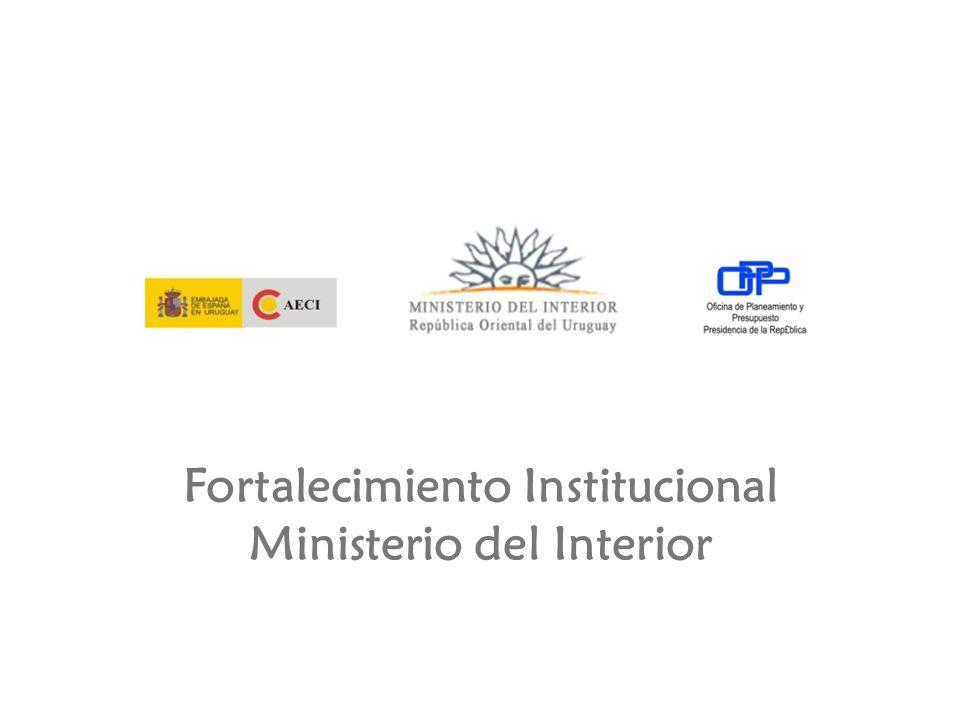 Fortalecimiento Institucional Ministerio del Interior