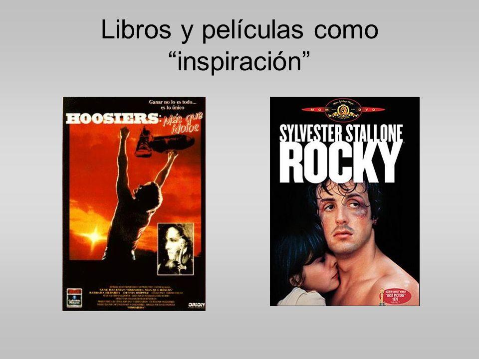 Libros y películas como inspiración