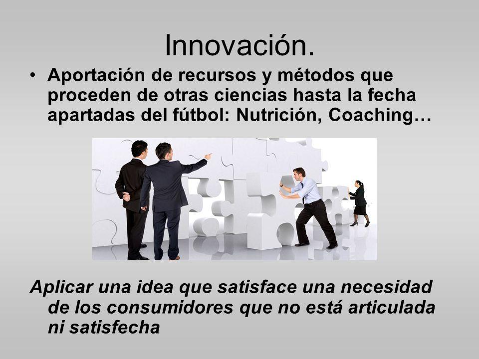 Innovación.