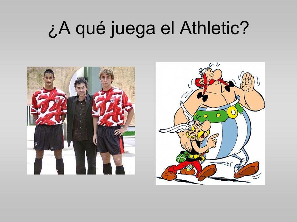 ¿A qué juega el Athletic?