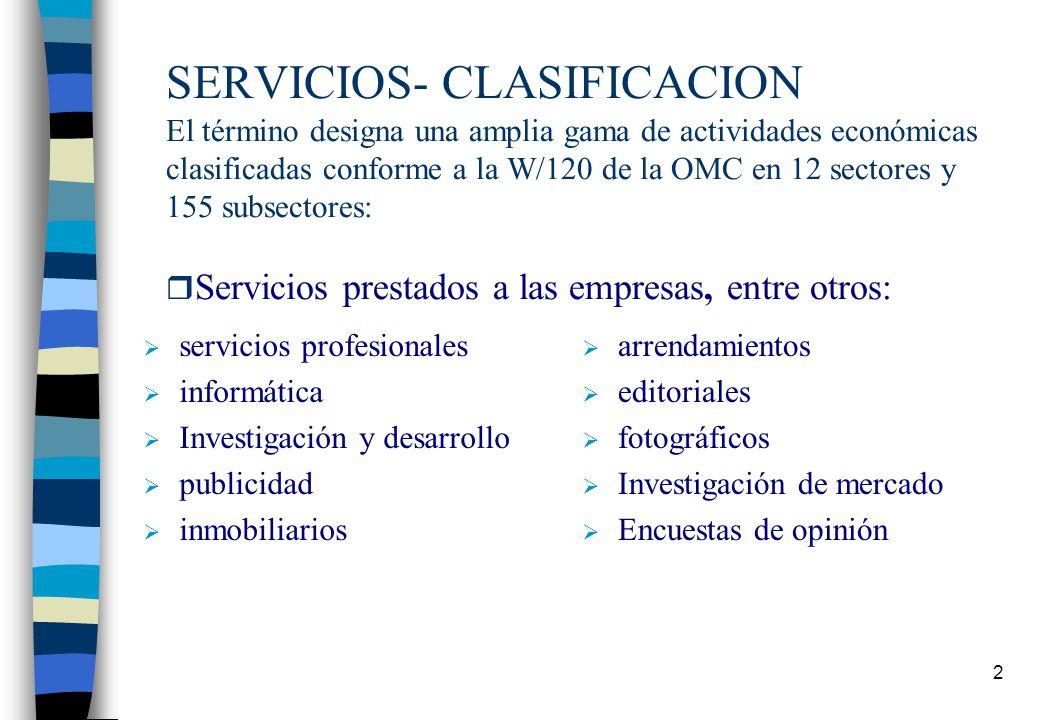 COMERCIO DE SERVICIOS COMERCIO DE SERVICIOS EN EL MERCOSUR Presentación: Gilda Arréllaga Coordinadora del Grupo de Servicios – Paraguay