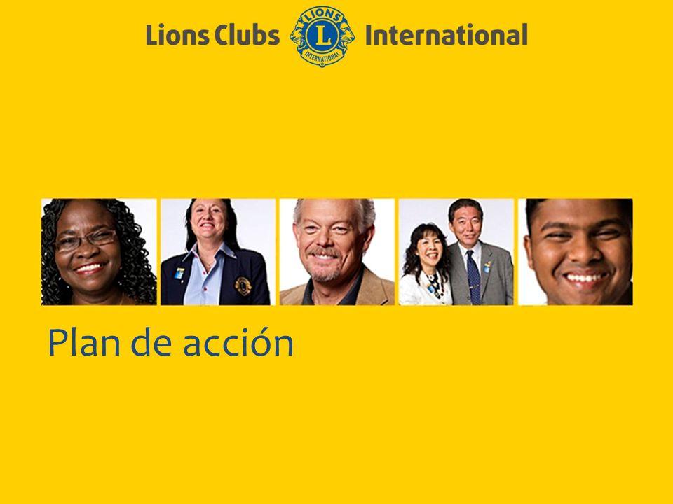 LIONS CLUBS INTERNATIONAL PROCESO CLUB EXCELENTE 8 Plan de acción eficaz Sea específico Quién, qué, cuándo, cómo...