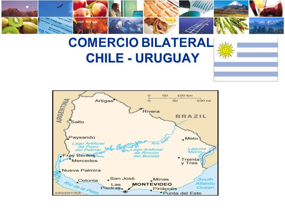 CHILE - URUGUAY COMERCIO BILATERAL CHILE - URUGUAY