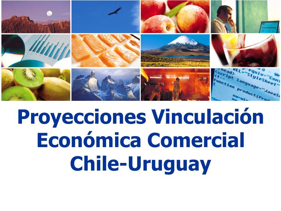 Proyecciones Vinculación Económica Comercial Chile-Uruguay