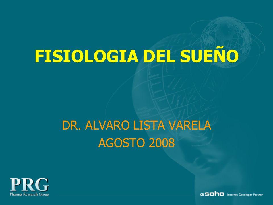 FISIOLOGIA DEL SUEÑO DR. ALVARO LISTA VARELA AGOSTO 2008