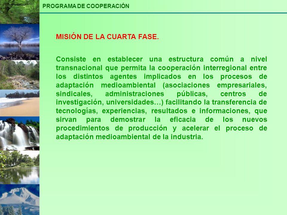 Consiste en establecer una estructura común a nivel transnacional que permita la cooperación interregional entre los distintos agentes implicados en l