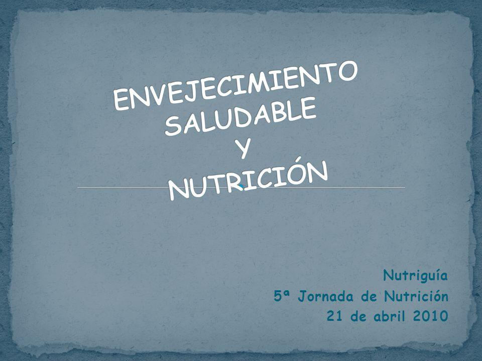 Nutriguía 5ª Jornada de Nutrición 21 de abril 2010