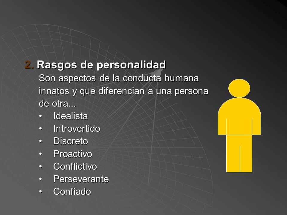 Componentes de las Competencias... 1. Valores Son normas de vida, que las sociedades, empresas o cualquier forma de organización imponen a sus miembro