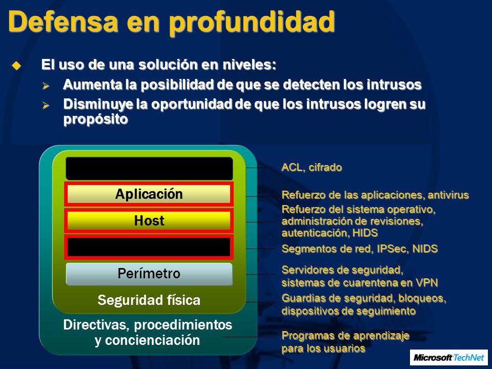 Establecimiento de límites seguros de Active Directory Especifique límites administrativos y de seguridad Diseñe una estructura de Active Directory en función de los requisitos de delegación Implemente límites de seguridad basados en la guía de recomendaciones