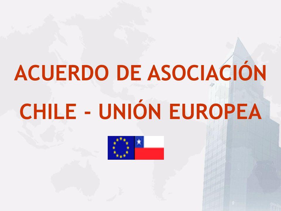 EVALUACIÓN FINAL DEL TLC CategoríaN° Items%Exportaciones chilenas a: USA% % Acumulado Inmediata9.64494,7%2.758.48287,0% 2 años10,0%245.5427,8%94,8% 4 años2242,2%5.9960,2%95,0% 8 años1401,4%11.1970,4%95,4% 10 años660,6%8.4710,2%95,6% 12 años570,6%141.5084,5%100% Tabaco560,5%---0,0%100% Total Propuesta10.188100%3.171.196100%