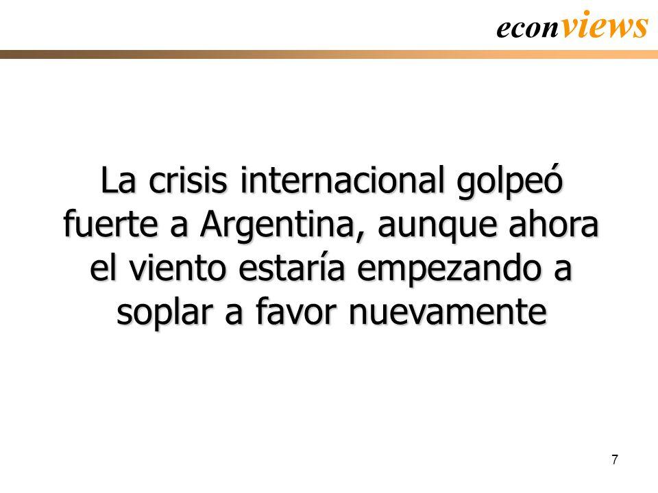 7 La crisis internacional golpeó fuerte a Argentina, aunque ahora el viento estaría empezando a soplar a favor nuevamente econ views