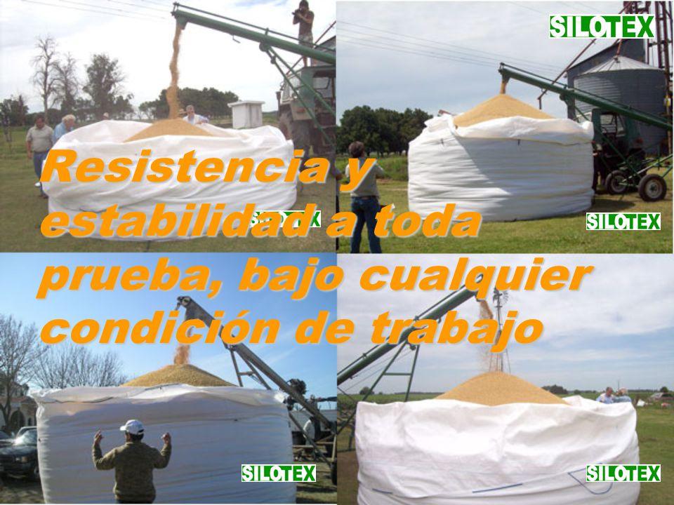Resistencia y estabilidad a toda prueba, bajo cualquier condición de trabajo