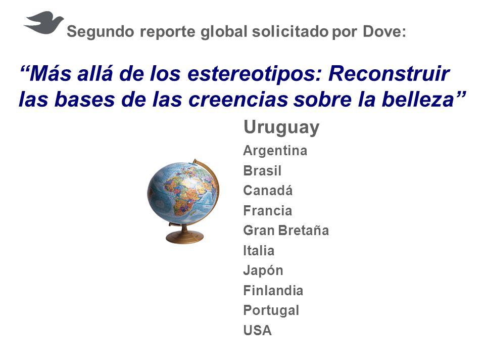 Segundo reporte global solicitado por Dove: Más allá de los estereotipos: Reconstruir las bases de las creencias sobre la belleza Uruguay Argentina Br