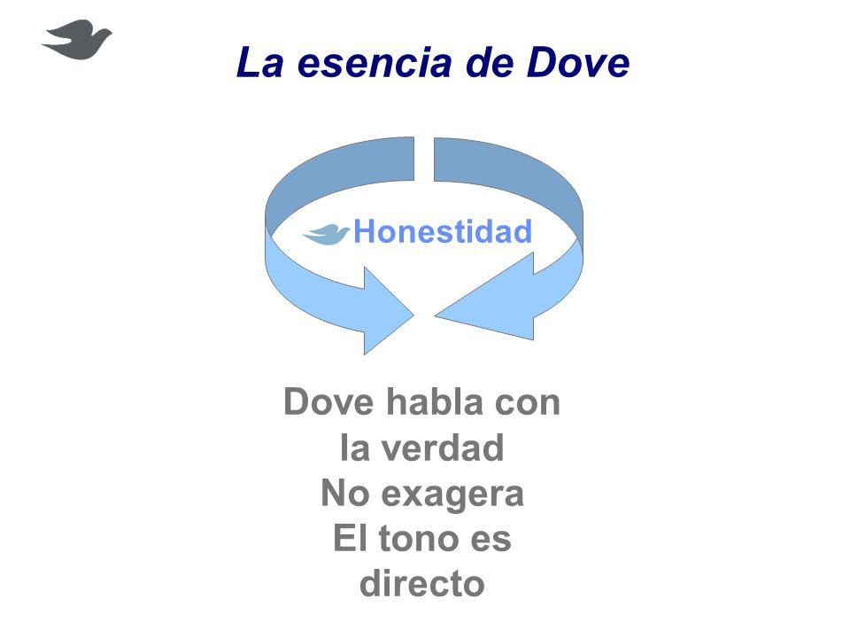 Filosofía de producto Dove Solo creamos productos que estemos orgullosos de recomendar a las mujeres que más amamos en nuestra vida.