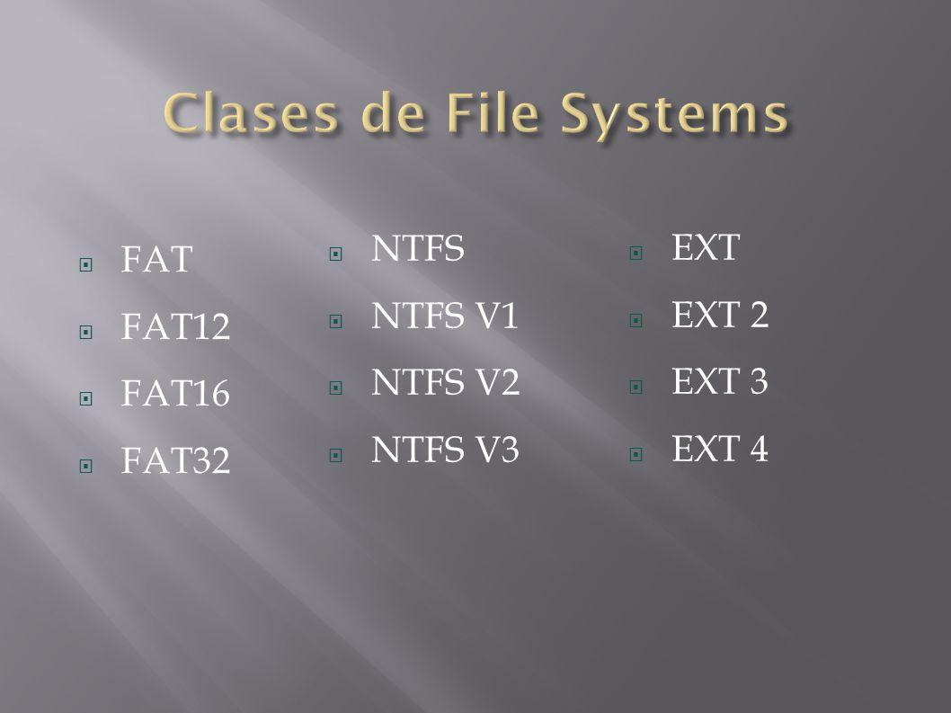 FAT y FAT32 son similares entre sí, excepto en que FAT32 está diseñado para discos de mayor tamaño que FAT.
