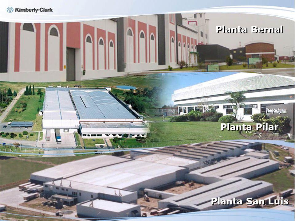 Planta San Luis Planta Pilar Planta Bernal